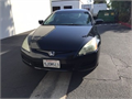 2004 Honda Accord EX Used 198000 miles Dealer Coupe 4 Cyl Black Black Good cond Manual FWD