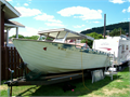 1964 Lone Star 24 project boat wtrailer Aluminum hull and roof New rollers tires bearings Boa