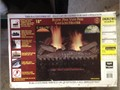 Gas Logs Vent Free - New In Box - 18 For LP - Hand Painted Ceramic Logs - Glowing Embers - Thermost