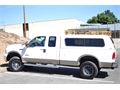 2006 Ford F350 4x4 Supercab Lariat diesel 8 bed camper shell one owner non-smoker well maintain