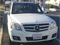 2011 Mercedes 350 GLK  white with about 48000 mile very nice