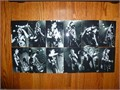 Alice Cooper concert 4x6 black  white photo set 25 years of rock n roll set of 12 photos taken at t