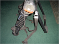 This is a used TREK bicycle carrier trunk mount in black 3500  REPLY BY TELEPHONE ONLY