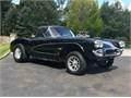 1960 Corvette 383 ci stroker motor tunnel ram w 2 Holley 500 carbs custom h