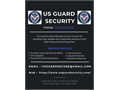 Contact our US Guard Security Company for best Security Jobs and Security Services 832 572-6648 or