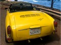 EXTREMELY clean little rust great condition 71 Karmann Ghia Convertible Ready to pass safety jus