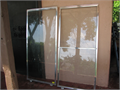 2 Shower Clear Glass Doors Width 28 34 Height 5 1 12 In Good Condition 7000 951-530-7250