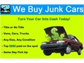 Wreck cars wanted top dollar for any make year or model running not running So-Cal Towing Inc will