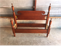 Antique Mahogany Twin Headboard  Footboard Pristine Condition Absolutely Beautiful