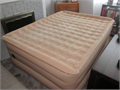 QUEEN SIZE AEROBED  extra high 24 with support edge all the way around it has a built in 120v ope