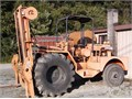 Viking 12000 heavy-duty forklift powdered by a Perkins 4 cylinder diesel  Has extended forks good