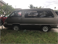 87 toyota van wagon Its a project van 4 cylindergas saverI dont have the space nor the timeit