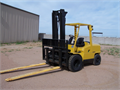 2006 Hyster H100XM 10 K Capacity Diesel Powered New Tires Power Fork Spreaders Work Lights Fla