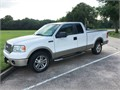 2007 FORD F-150 LARIAT 4X2 SUPERCAB Singleoriginal owner vehicle Low mileage Well-kept and maint