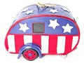 New-Exclusive Cyber Distributors Americana Trailer Birdhouse