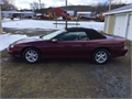 2002 Chevrolet Camaro Used 67000 miles Convertible 6 Cyl Burgundy Black Leather  Auto 2 Door