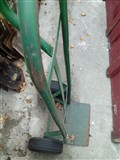 2 wheel push dolly green very handy