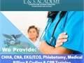 E  S Academy is offering Electrocardiogram Technician EKGECG classes Our educational services g