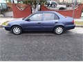 BLUE 1999 TOYOTA COROLLARUNS REALLY GOODCURRENT REGISTRATION SALVAGE TITLEAC AND HEATERNO