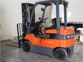 2010 TOYOTA ELECTRIC SIT-DOWN FORKLIFT It is in great conditionModel 7FBH25Electric sit