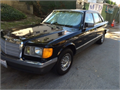 1984 Mercedes-Benz 380SE 160000BlackGray146000 milesGreat car for its vintage Runs ok