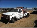 1985 Ford F350  it has Holmes combo wheel lift and tow boom 69 Diesel engine and 4 speed transmis