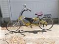 Rans Fusion Crank ForwardSemi-Recumbent Bicycle New tires  tubes