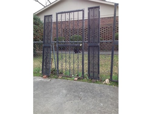 Wrought-Iron Dr. & Panels