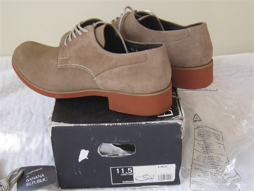 Mens Durham leather shoes