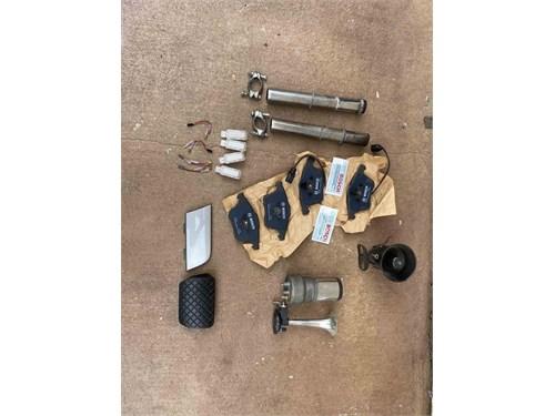 Box of car parts