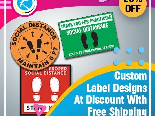 Custom Labels Designing