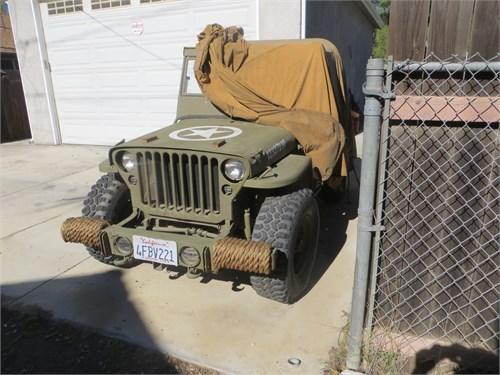 1942 Ford JPW Jeep