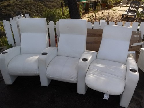 3 chair set .lounges
