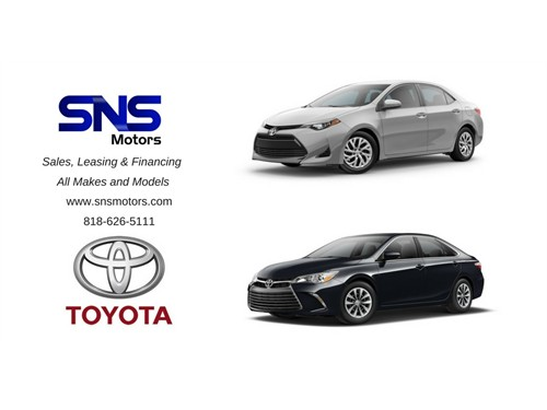 SALES LEASING & FINANCING