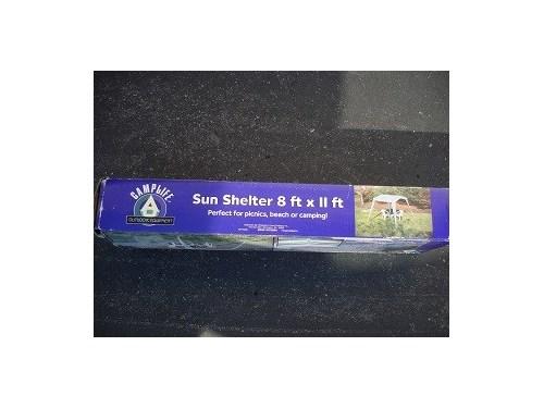 SUN SHELTER  8ft x 11ft *