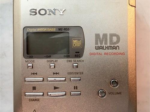SONY MZ-R55 MD Walkman