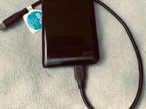 WD 1TB Portable HDD 3.0