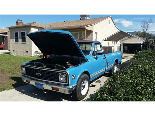 1971 Chevy C20 long bed
