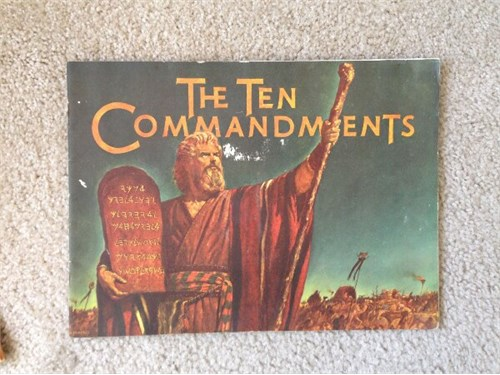 The Ten Commandments,1956