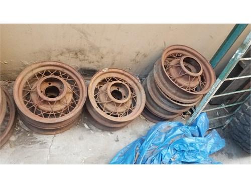 Ford wire spoke wheels