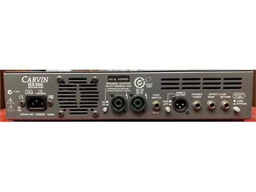 Carvin BX500 amp & cab