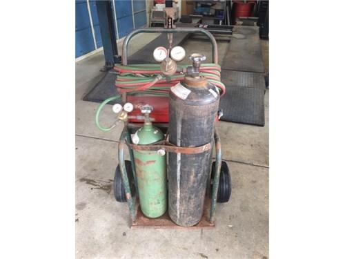 oxy/acetylene torch set