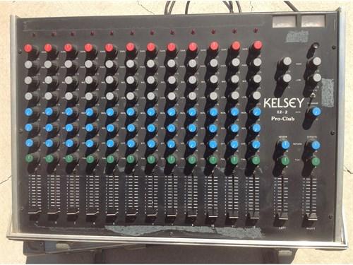 Kelsey Road Mixer 12+2