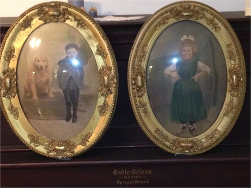 Antique Oval Pictures