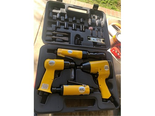 Brand new set of air tool