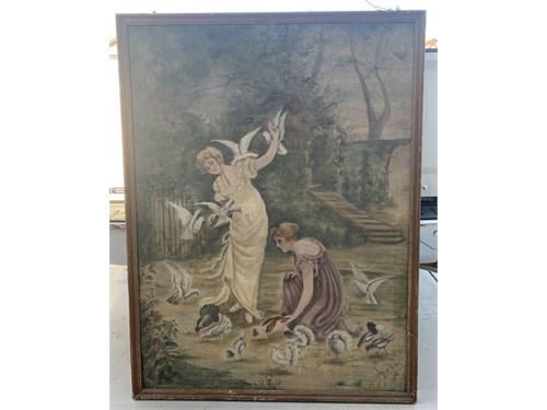 Antique canvas