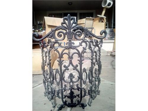vintage chimney gate