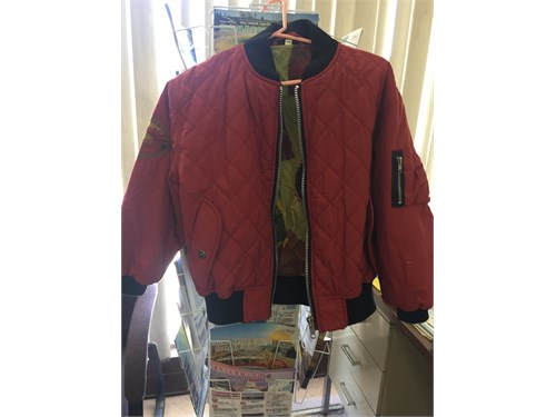 winter jacket,red,new