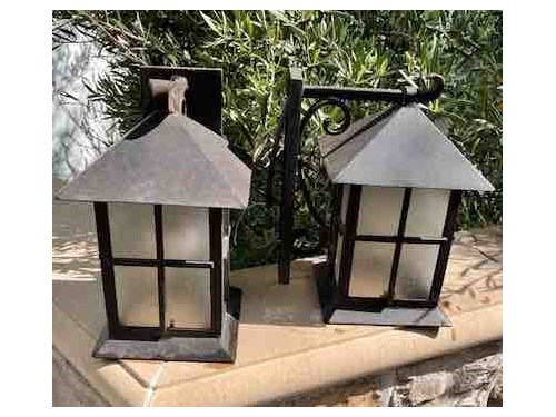 5 Exterior Wall Sconces