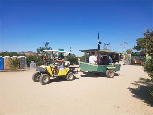 EZ-GO Gas Golf Cart OHV